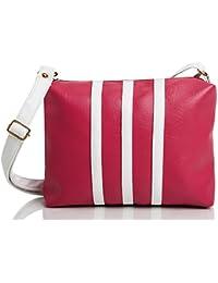mammon Women's Sling Bag(Slg-3Strip-Pw,Multicolor)