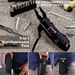 Bibury 5 in 1 Multitools, Foldable Pliers Multitool Stainless Steel Multi Tool, Multi-Purpose Pliers with Nylon Pouch… 12