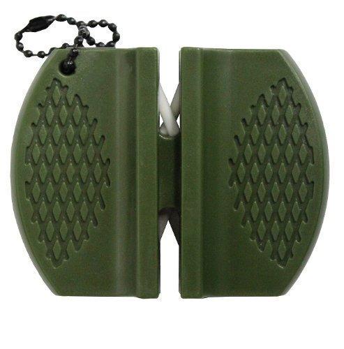 MESSERSCHÄRFER Messerschleifer Schleifset aus Keramik / Carbit für Messer - Wetzstahl - geeignet für Outdoor / Camping / Survival / Haushalt / Garten - Original Inet-Trades ®