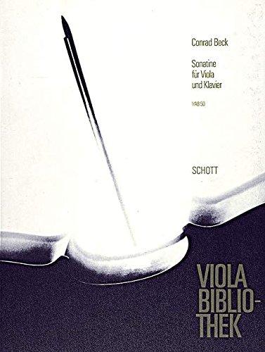 Sonatine: Viola und Klavier. (Viola-Bibliothek)