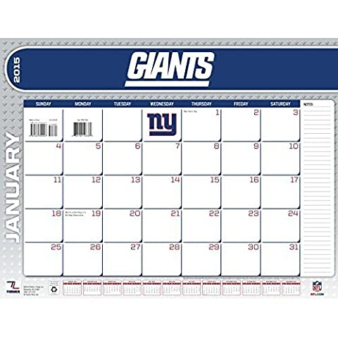 Turner Perfect Timing 2015 New York Giants Desk Calendar, 22 x 17 Inches (8061456) by Lang Holdings, Inc.