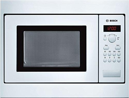 Bosch HMT75M521 Serie 4 Mikrowelle / Drehtür mit Sichtfenster links angeschlagen / Digitaldisplay / weiß