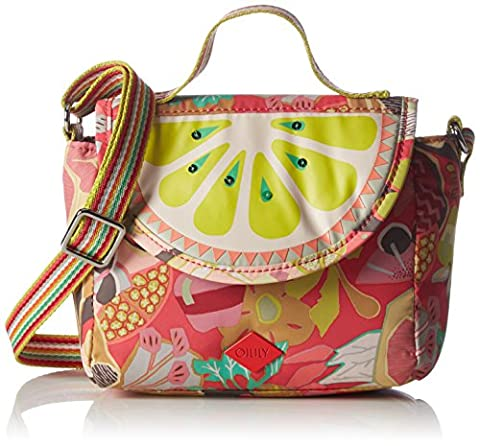 Oilily Oilily S Shoulder Bag OES6197-323 Damen Schultertaschen 17x14x10 cm (B x H x T), Pink (Candy Pink (Oilily Kindertasche)