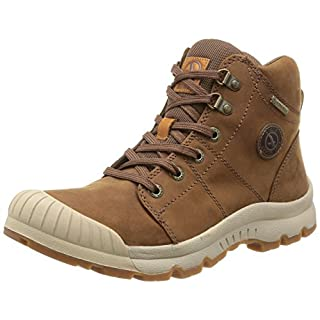 Aigle Men's Tenere Leather & Gtx High Rise Hiking Shoes, brown (Camel), 8 UK