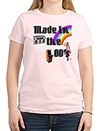 CafePress - Made In The 80's Women's Light T-Shirt - Womens Crew Neck Cotton T-Shirt, Comfortable & Soft Classic Tee