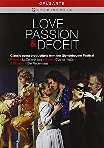 Love Passion And Deceit (Glyndebourne Box Set) (Opus Arte: OA1074BD) [DVD] [2010]