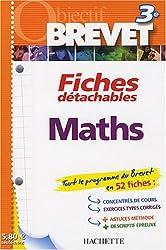 Maths 3e : Fiches détachables
