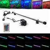SPEED Aquarium Mondlicht SMD LED Lampe Wasserdicht Aquarium Beleuchtung Tageslichtsimulator RGB / Blau&Weiß / kaltweiß (28-110CM) RGB 58cm