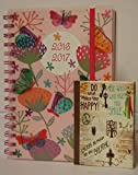 Arpan A5 2016-2017 Mid-Year Wiro Academic Day a Page Diary + Arpan Notebook (A5 Day A page - Butterfly)