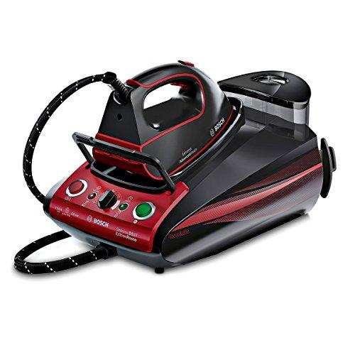 Bosch TDS373118P - Centro de planchado profesional, 3100 W, color rojo