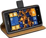 mumbi Tasche im Bookstyle für Nokia Lumia 625 Tasche