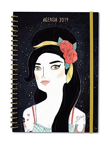 Agenda anual semana/vista María Hesse 2019 (TANTANFAN)