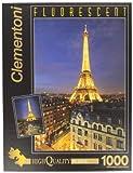 Clementoni Puzzle 39210 - Paris - 1000 pezzi Fluorescenti