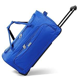 noorsk Geräumige Reisetasche Sporttasche in verschiedenen Farben - XL - Blau