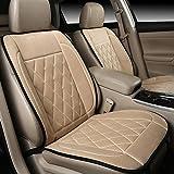 CAR Universal 12V beheizter Autositzheizung Beheizter Kissenwärmer High / Low / Temp Switch , beige