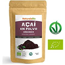 Bayas de Acai Orgánico en Polvo [Freeze - Dried] 100g | Pure Acaí Berry