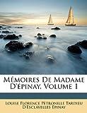 memoires de madame d epinay volume 1