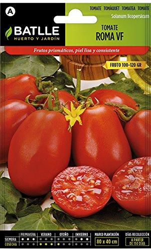 Semillas Hortícolas - Tomate Roma VF -
