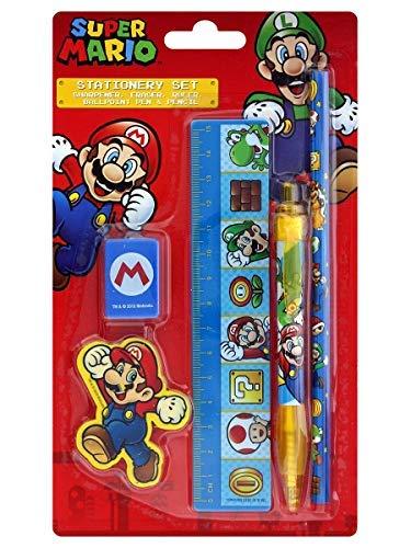 Pyramid Super Mario Schreibset 5-teilig (Bleistifte Super Mario)