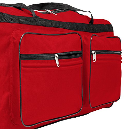 TecTake Grand sac de voyage XXL valise trolley à roulettes I3RbCtx