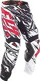 Fly Racing & Motocross Mesh Hose schwarz-weiß-rot Fahrerhose
