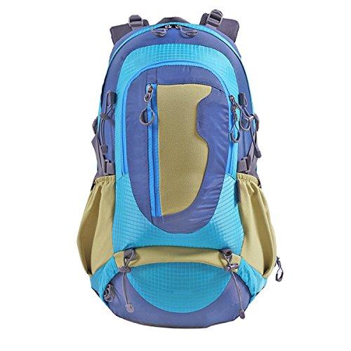 Xin.S40L Tattiche Di Espansione All'aperto Zaini Sport Militari Campeggio Borse Da Escursionismo Zaino Multifunzionale. 3 Colori Blue
