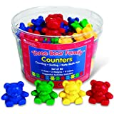Learning Resources Kit d'ours À Compter Three Bear Family De - 4couleurs -