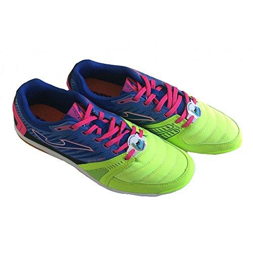 Joma, Chaussures de futsal homme - Verde-Royal-Rosa