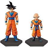 superestructura de Dragon Ball Z Coleccioen ? ? tres Goku Krilin todo conjunto de 2 15cm figura