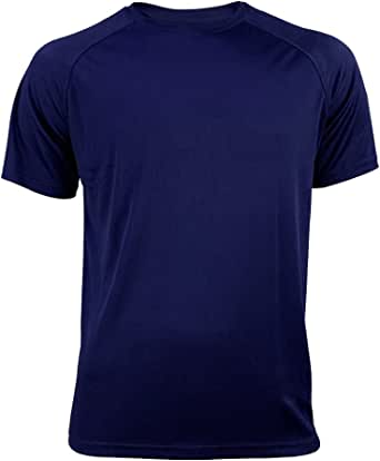 T Shirt Men Gym Shirts Quick Dry Mens Sports Tee Breathable T-Shirts for Men Mesh Exercise Elastic Jogging Tees to Men's T-Shirts Short Sleeve Summer Elastic Light Soft