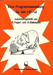 Programmsammlung für den HP-41