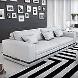 Innocent Sofa 2-Sitzer Artesania weiß/schwarz