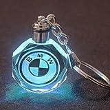 VILLSION LED Llavero Accesorios Colores Cambiantes Coche con luz LED Llave