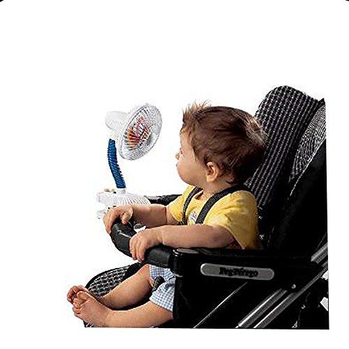 Portable de voyage enfant Pinwheel Ventilateur – Idéal pour les poussettes, Poussettes, chaises hautes