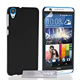 Yousave Accessories® Custodia per HTC Desire 820, Duro Ibrido, Nero