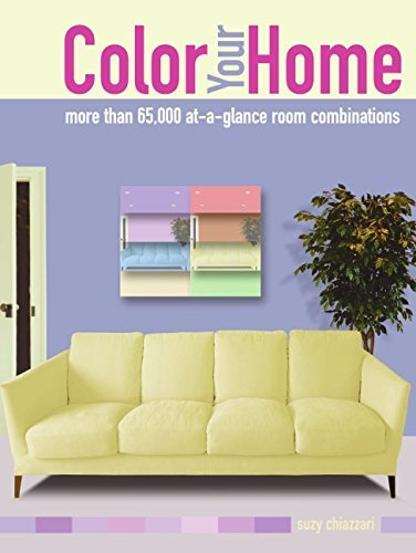 Color Your Home: 70,000 at a Glance Room Combinations by Suzy Chiazzari (8-Sep-2005) Spiral-bound