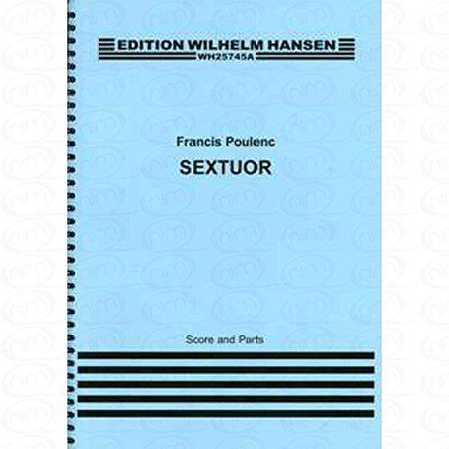 SEXTUOR - SEXTETT - arrangiert für Querflöte - Oboe - Klarinette - Waldhorn - Fagott - Klavier [Noten/Sheetmusic] Komponist : POULENC FRANCIS