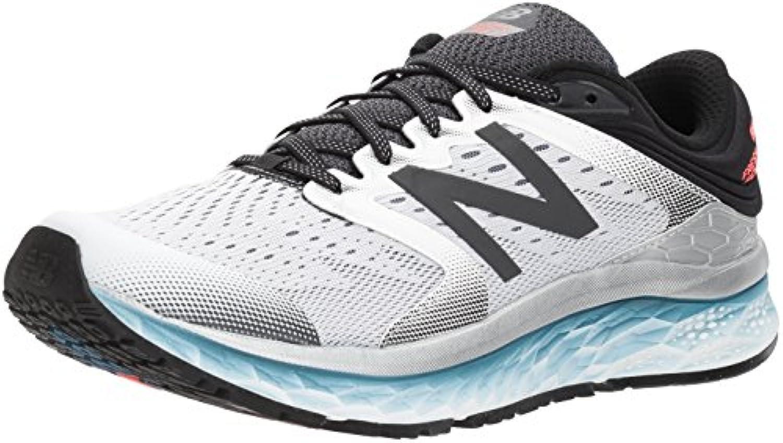 New Balance 1080v8, Zapatillas de Running Hombre, Blanco/Negro (White/Black), 47 EU