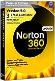 NORTON 360 PREMIER V5.0 3 PC - Upgrade - inkl. Updatemöglichkeit auf Version 6.0