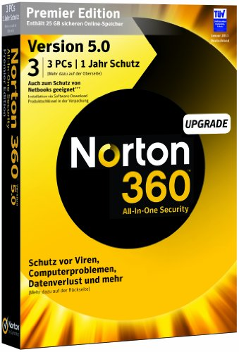 NORTON 360 PREMIER V5.0 3 PC - Upgrade