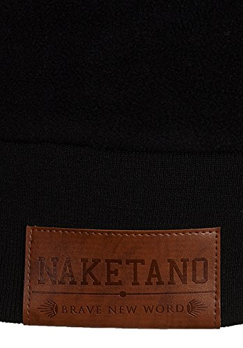 Naketano Female Hoody Kanisterkopf Black