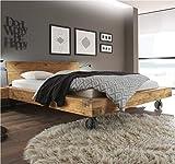 Hasena Oak Wild Vintage Balkenbett Kopfteil Sion Füße Road 140x200