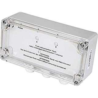 Homematic 76800 Rollladenaktor 1-Fach, Aufputzmontage