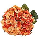 Houda 5grandes cabezas de seda Artificial ramo de Hortensia Artificial flores arreglo Home boda Decor