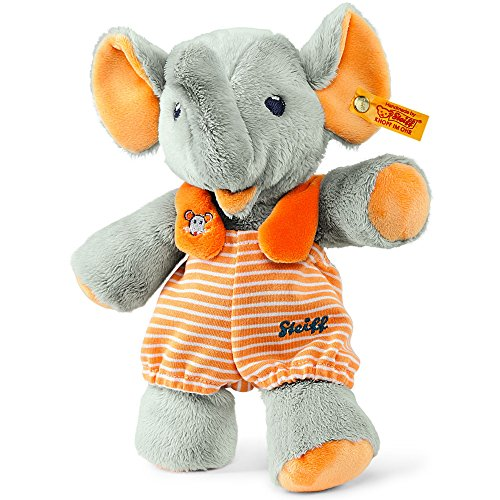 Preisvergleich Produktbild Steiff 240256 - Trampili Elefant 24, grau/orange