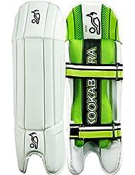 Kookaburra críquet 1000deportes Wicket Keeper pierna protección almohadillas, multicolor