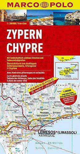 Preisvergleich Produktbild MARCO POLO Karte Zypern 1:200.000 (MARCO POLO Karten 1:200.000)