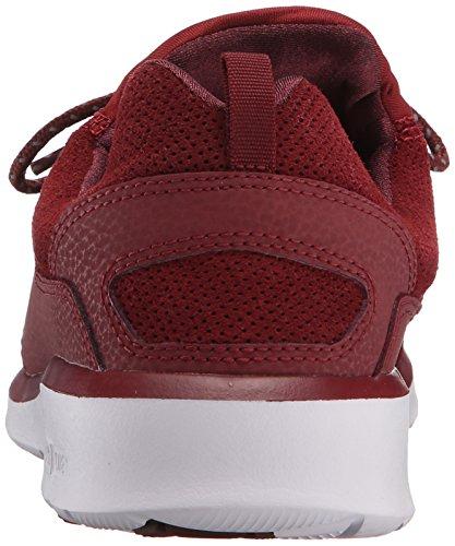 DC - - Uomo-heathrow Presti Low Top senza tempo a forma di scarpa (Argilla rossa)