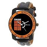 Relish-571 Stylish Orange & Black Case A...