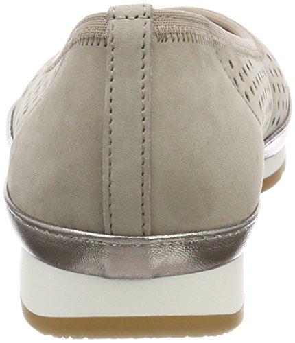 Gabor Comfort Sport, Ballerines Pour Femmes Brown (vison / Gel Luxor)